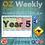 Thumbnail: Australian Reading Weekly Planning Sheets - Year 5