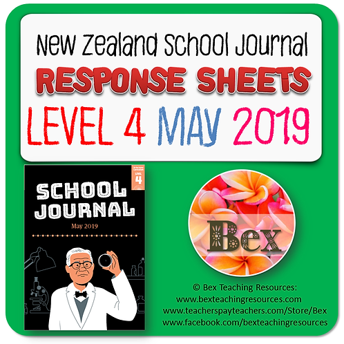 NZ School Journal Responses - Level 4 May 2019