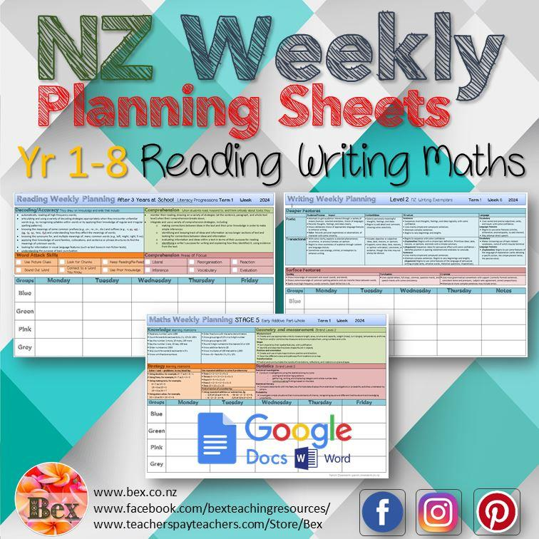 NZ Weekly Plans