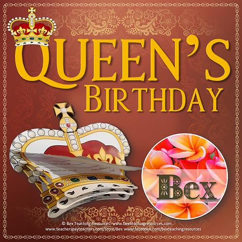 Queen's Birthday Activity Booklet