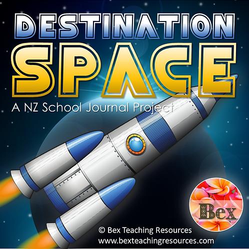 Destination Space - A NZ School Journal Project