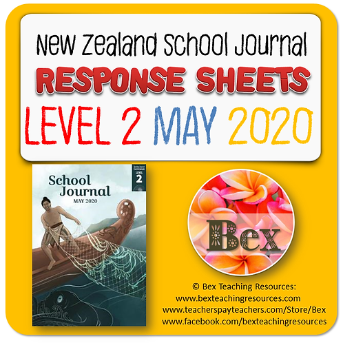 NZ School Journal Responses - Level 2 May 2020