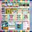 Thumbnail: New Zealand Literacy Curriculum Coverage Sheet (Level 1-4 on one sheet)