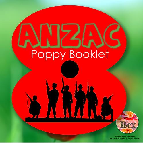 ANZAC Poppy Booklet