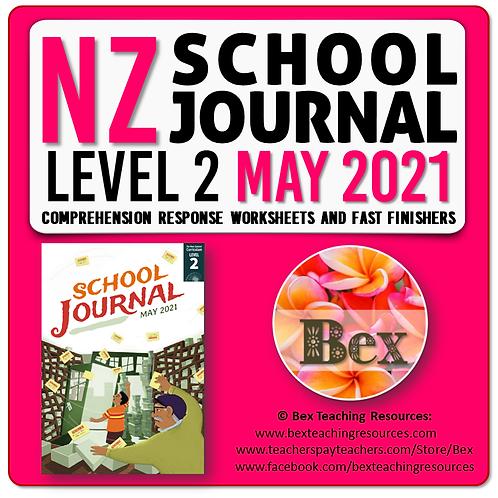 NZ School Journal Responses - Level 2 May 2021