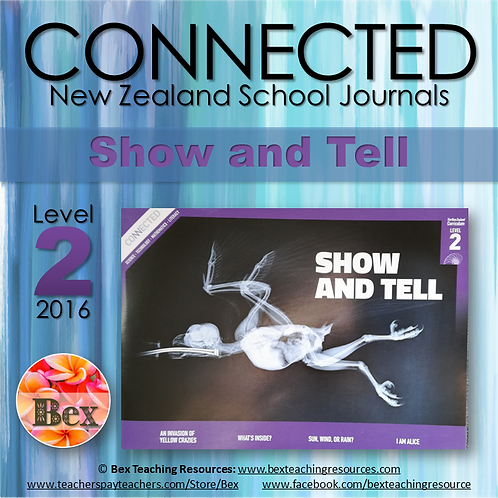 NZ Connected - L2 - 2016 - Show and Tell