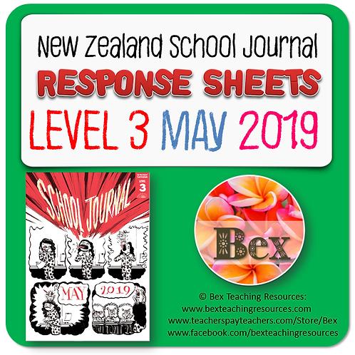 NZ School Journal Responses - Level 3 May