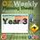Thumbnail: Australian Maths Weekly Planning Sheets - Year 3