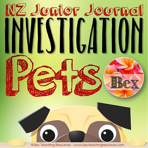 Investigation Pet - A NZ Junior Journal Project