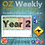 Thumbnail: Australian Reading Weekly Planning Sheets - Year 2