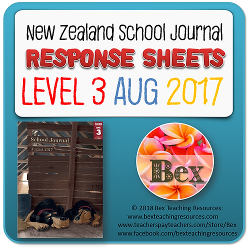 NZ School Journal Responses - Level 3 August 2017