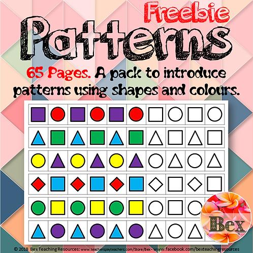 Beginning Patterns Pack (Code: BEXFREE)