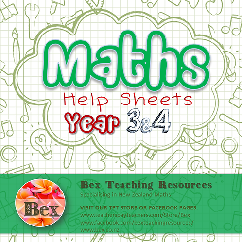 Maths Help Sheets Year 3 & 4