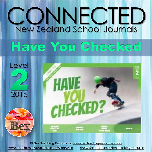 NZ Connected - L2 - 2015 - Have You Checked