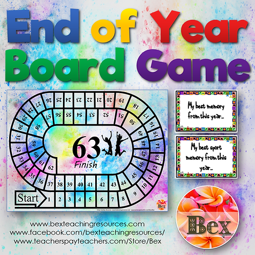 End of Year Board Game