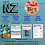 Thumbnail: New Zealand Integrated Topic Unit Plan Template (Level 4 NZC)