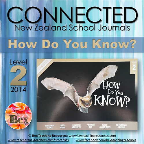 NZ Connected - L2 - 2014 - How Do You Know