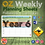 Thumbnail: Australian Maths Weekly Planning Sheets - Year 6