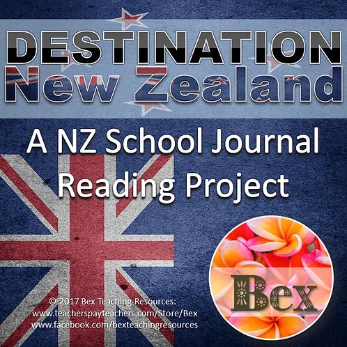 Destination New Zealand - A NZ School Journal Project. Years 5-8