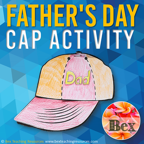 Father's Day Cap Activity