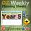 Thumbnail: Australian Maths Weekly Planning Sheets - Year 5