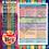 Thumbnail: New Zealand Literacy Curriculum Coverage Sheet (Level 1-4 Split Levels)