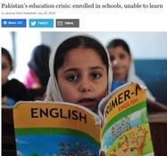 Express Tribune Blog   Pakistan's education crisis