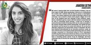 Dil Say Pakistan   Meet Jaweria Sethi, founder of Edopia