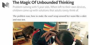 Medium.com   The Magic Of Unbounded Thinking