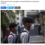 What has Covid-19 taught us about Pakistan's education system?