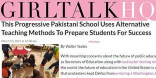 Girltalkhq.com   This Progressive Pakistani School Uses Alternative Teaching