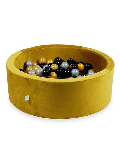 Ballenbad VELVET GOUD 90x30 cm incl. ballen
