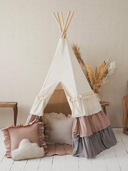 Tipi tent POWDER FRILLS
