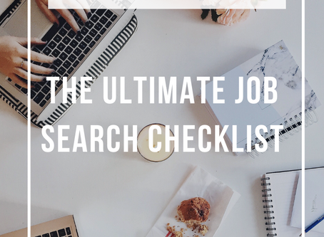 The Ultimate Job Search Checklist