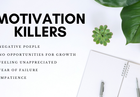Motivation Killers You Should Be Aware Of