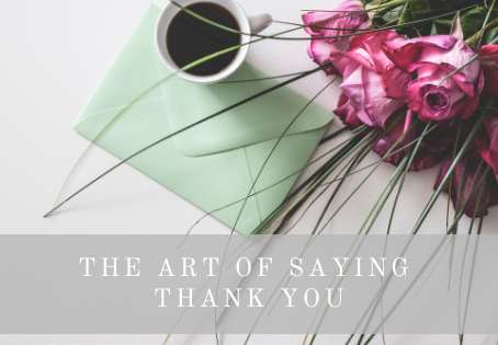 The Art of Writing a Thank You Letter