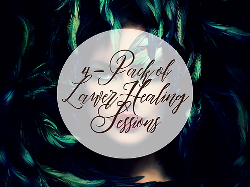 4 Pack of Laser Healing Sessions