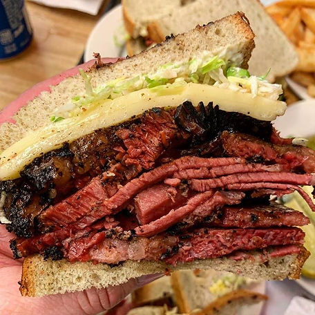My friend is up in the NY _ Katz Deli wi