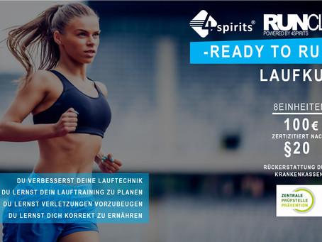 READY TO RUN - LAUFKURS