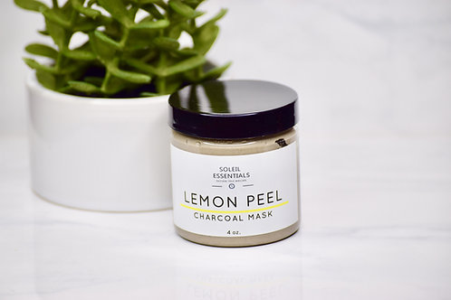 LEMON PEEL CHARCOAL MASK