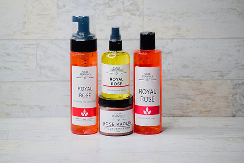 Royal Rose Facial Regimen Kit  (for Sensitive Skin)
