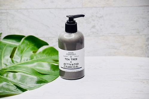 TEA TREE + ACTIVATED CHARCOAL BALANCING CLEANSER