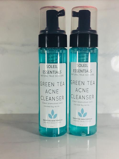 GREEN TEA ACNE FACIAL CLEANSER