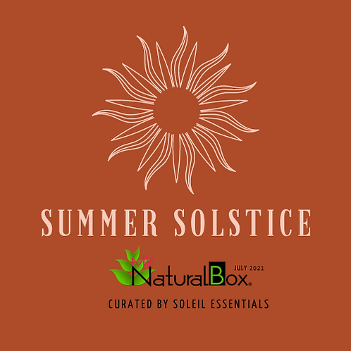 JULY MynaturalBOX:  Single Purchase