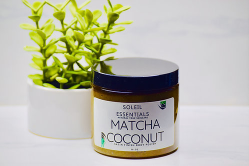 MATCHA | COCONUT BODY POLISH