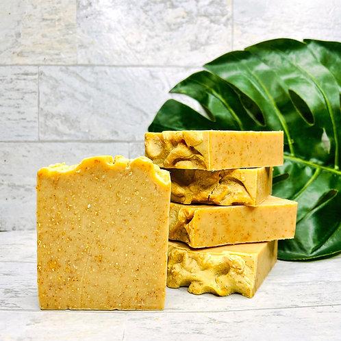 HONEY OATMEAL  NATURAL SOAP BAR
