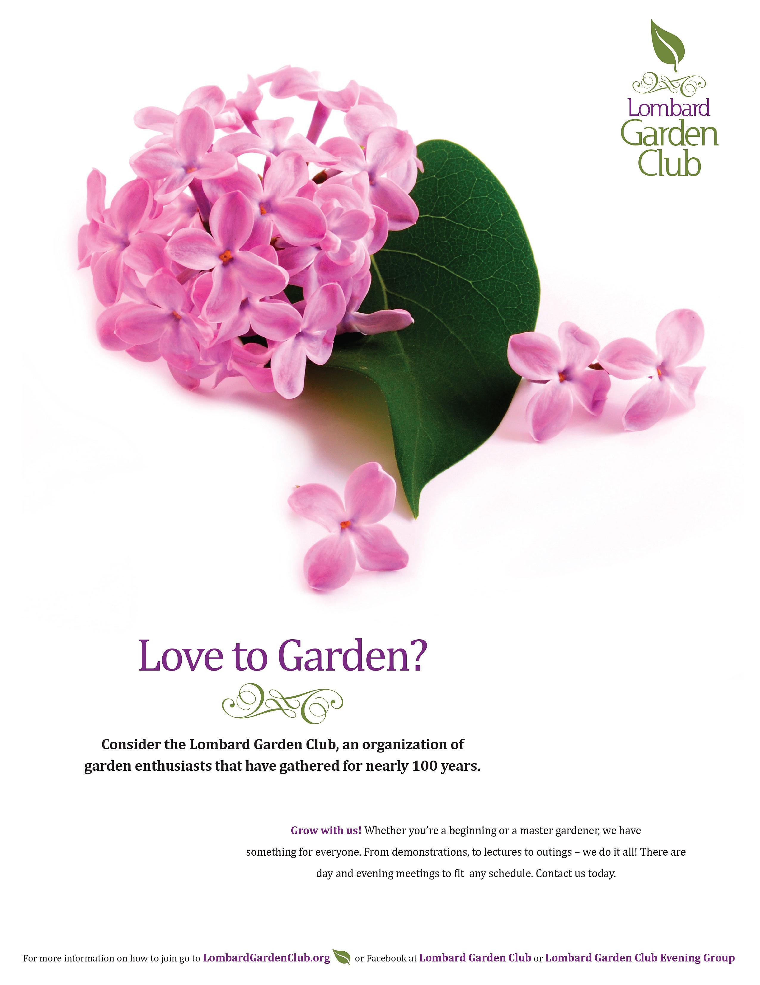Creative. mo cd   Lombard Garden Club Flyer
