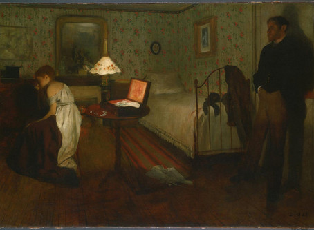 Degas, The Interior
