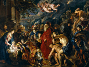 A Double Adoration from Rubens
