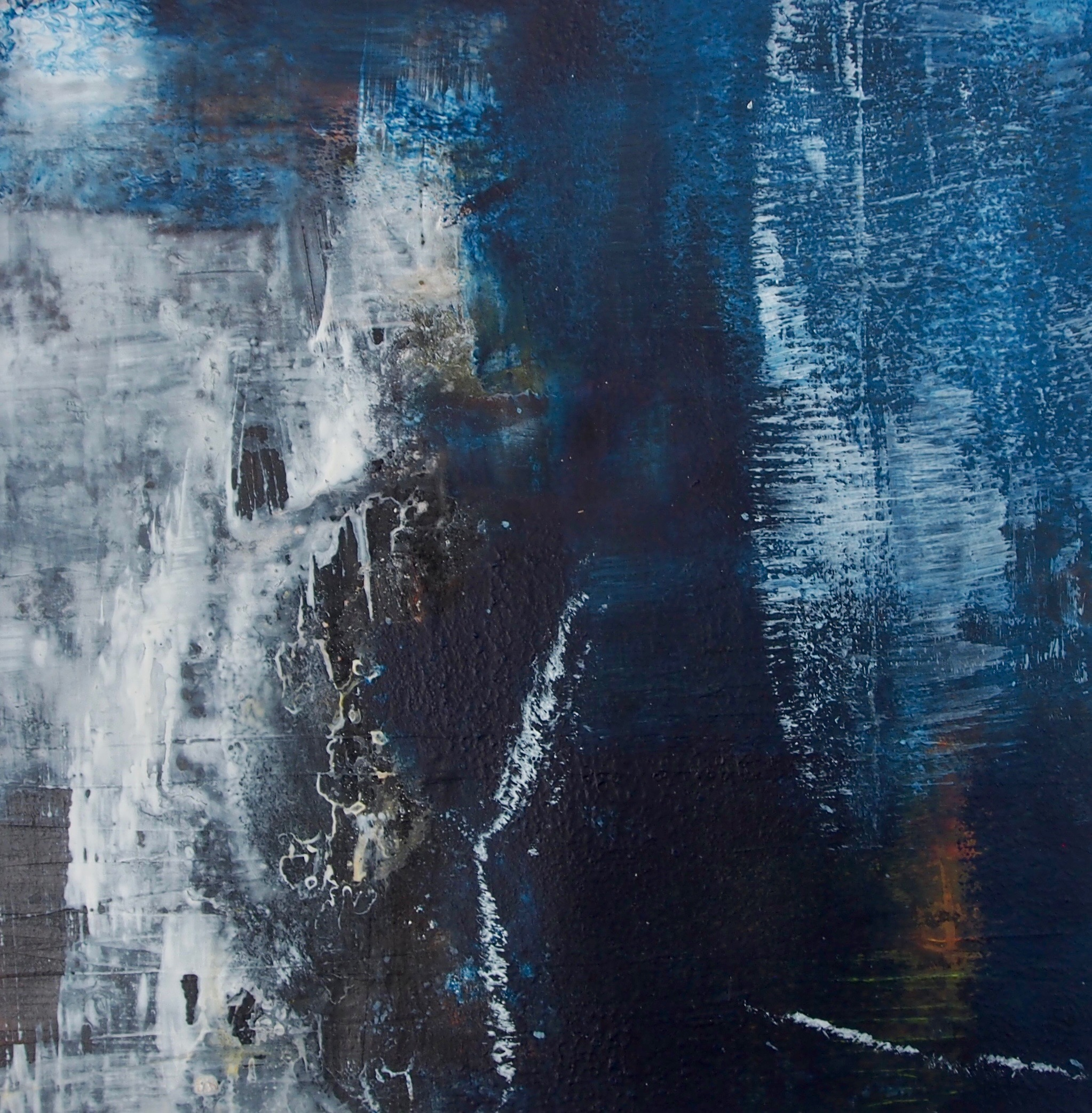 Abstract Blue II